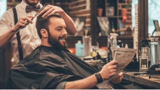 Купон в барбершоп в Питере! Мужская стрижка, бритье, оформление бороды в барбершопе Blade! Скидка 51%!