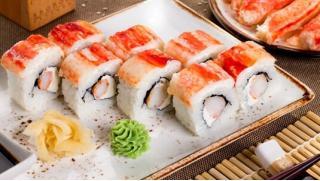 Монстр вкусной еды! Всё меню службы доставки Monster Sushi со скидкой 50%!