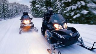 Снегоходы в прокат в Подмосковье! Катание на снегоходе по маршрутам на выбор от компании Kvadrmoto! Скидка 53%!