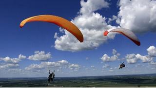 Купон на полет в Подмосковье! Полет с инструктором на параплане для одного или двоих от парапланерного клуба «Мечта летать»