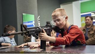 Тир в Москве! Стрельба из пневматического оружия, лука, автомата, винтовки или пистолета в стрелковом комплексе Shooter! Скидка 66%!