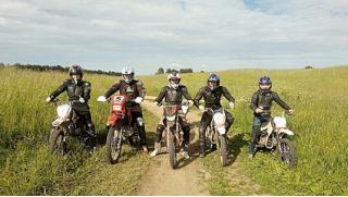Кроссовый мотик или питбайк?! Катание на кроссовом мотоцикле или питбайке от компании «Веселуха» со скидкой до 72%!