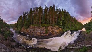 Купон на путешествие из Питера! Двухдневный экскурсионный тур в Карелию «Дикие водопады Карелии» от Karelia-line