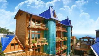 Любимая Ялта! Отдых для двоих или четверых в мини-отеле «Княжий град»! Завтраки, сауна с бассейном, аквапарк и другое!